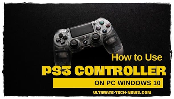 PS3 Controller on PC Windows 10