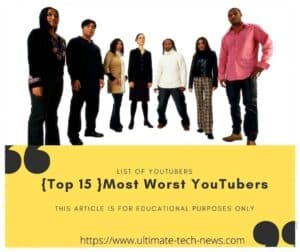 Most Worst YouTubers