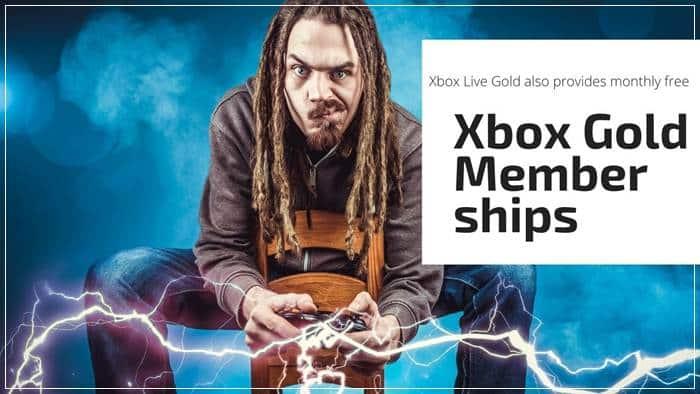 Xbox Gold Memberships
