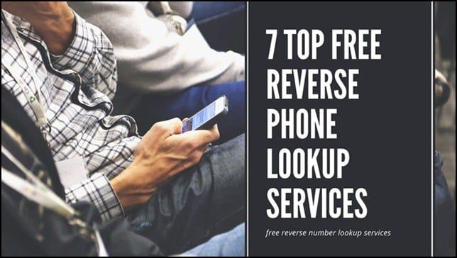 free reverse number lookup