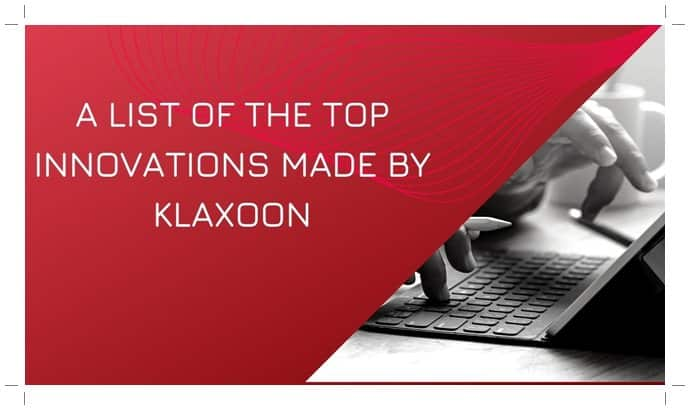 Top innovations made by Klaxoon