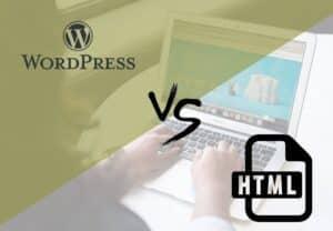 WordPress vs HTML Website